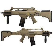G36C TAN BLOWBACK